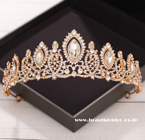 Catherine Braut Tiara in Gold